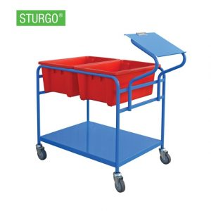 bm-13710009-double-order-pick-trolley-with-clipboard-cover