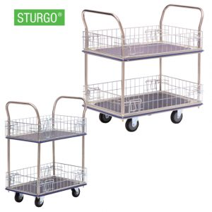 BM-1242-Sturgo-Double-Platform-Trolley-Mesh-Sides-cover-image
